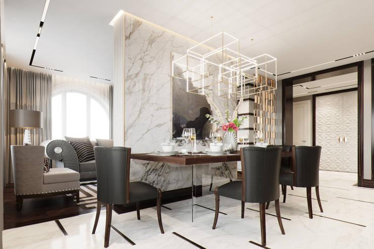 Dining room by EJ Studio, Modern