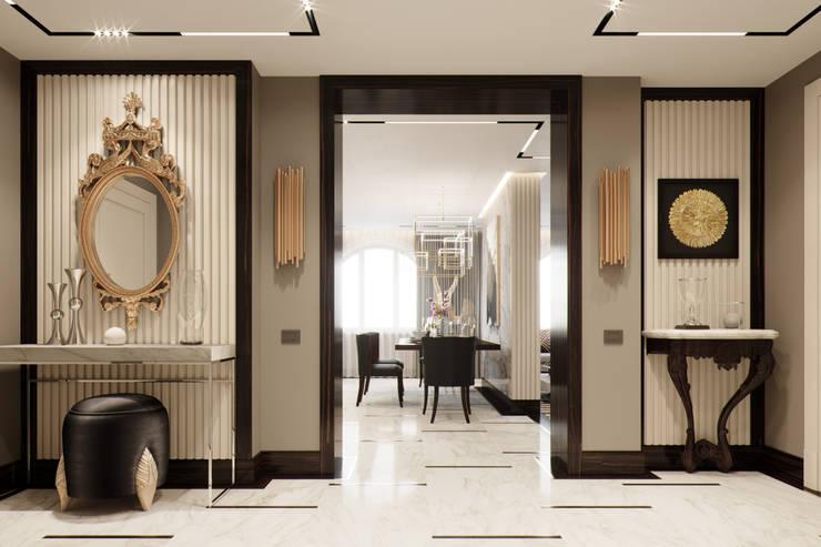 Corridor & hallway by EJ Studio, Modern
