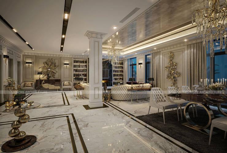 Spa de estilo  por A&More Architecture