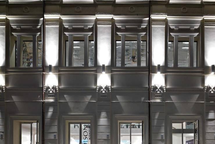 Martini灯具意大利高端品質進口戶外燈具_意大利之家:  客廳 by 北京恒邦信大国际贸易有限公司