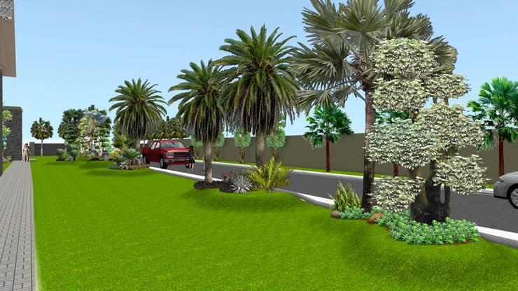 Taman rumah 9 surabaya:  Garden  by TUKANG TAMAN SURABAYA - jasataman.co.id