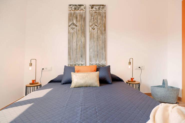 Dormitorio principal Dormitorios de estilo rústico de Markham Stagers Rústico