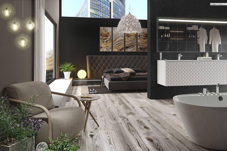 Luxury Hotel apartment :  Bedroom by Linken Designs , Minimalist Wood Wood effect