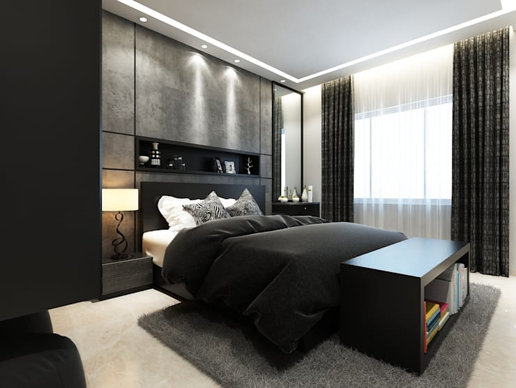 ROCKSTAR BEDROOM By Spaces Alive Homify Magnificent Rockstar Bedroom Model