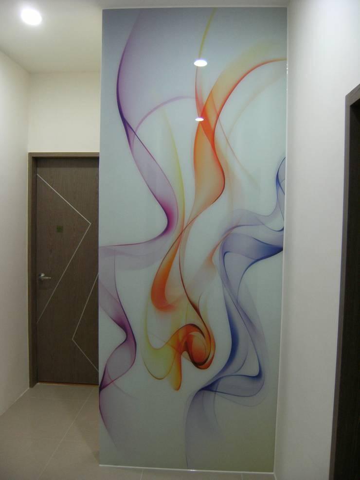 延平北路二段 新屋設計工程 周公館 25坪 三房兩廳兩浴室:   by 三印空間設計
