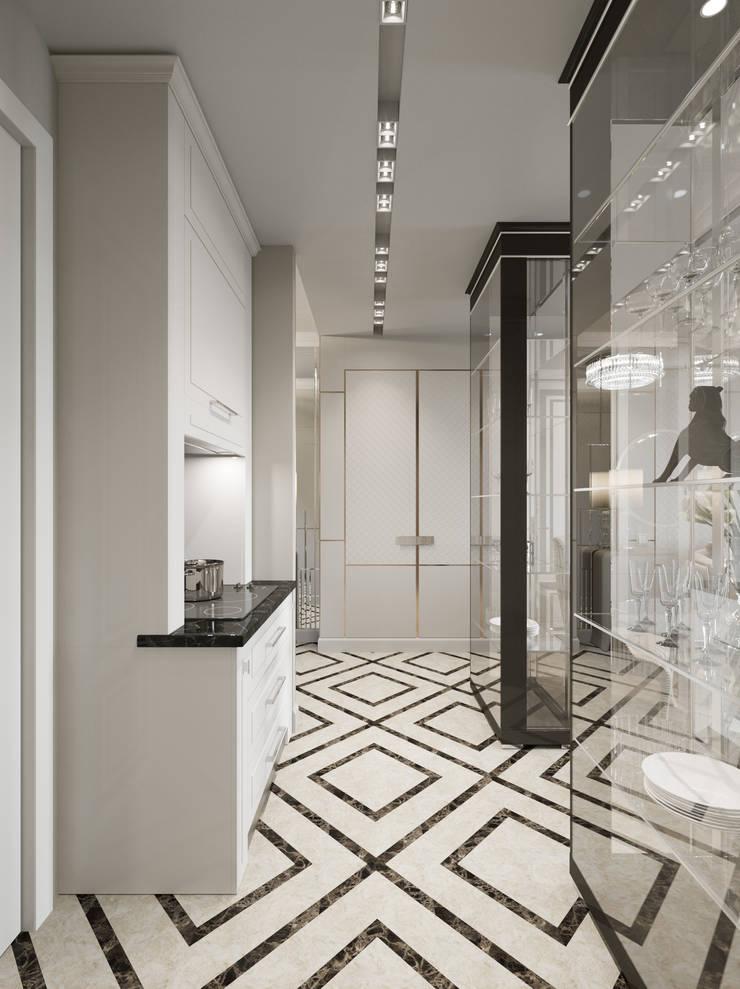 Квартира 59 метров в ЖК Привилегия: Кухни в . Автор – EJ Studio
