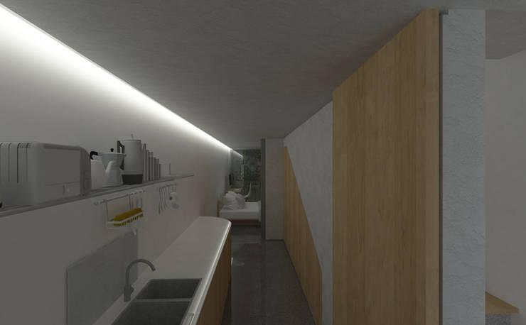 Akses kamar utama:   by studio moyn