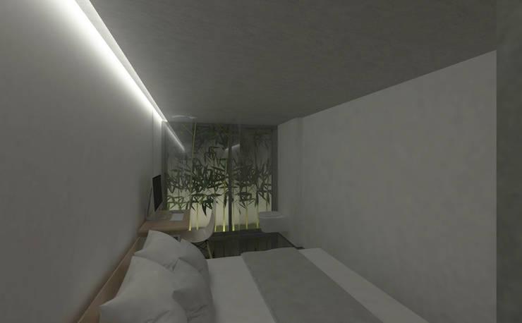 kamar tidur utama:   by studio moyn