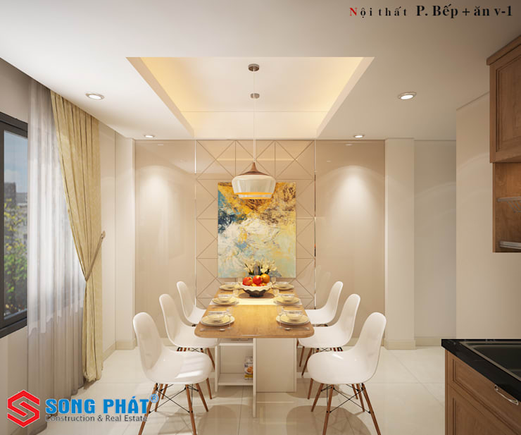 Kitchen by Công ty Thiết Kế Xây Dựng Song Phát, Asian