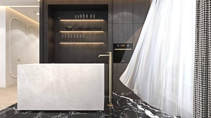 Luksusowy apartament dla singla: styl , w kategorii Kuchnia zaprojektowany przez Ambience. Interior Design