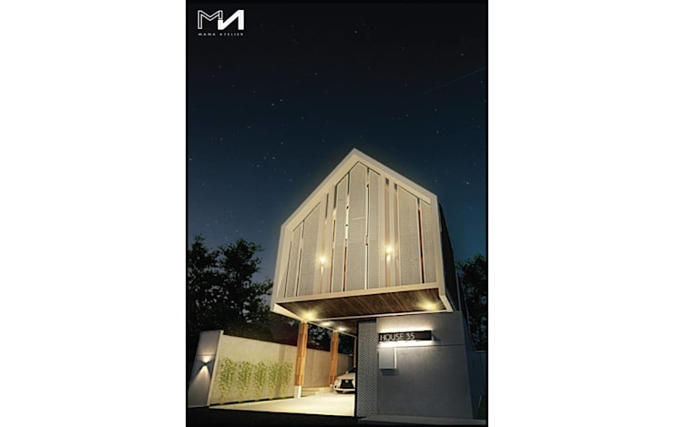 NIGHT VIEW:   by MANA ATELIER CO.,LTD