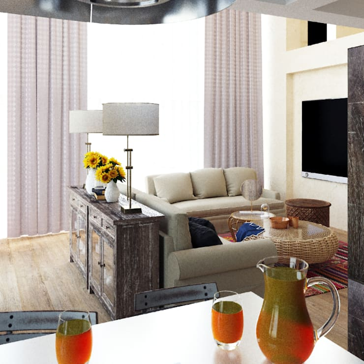 Living room by Eli's Home, Mediterranean