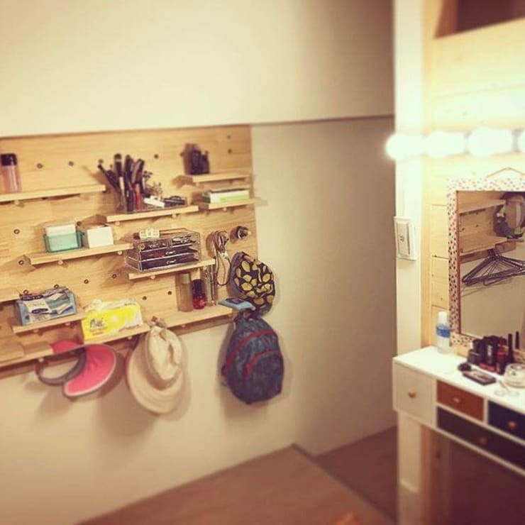 更衣室 Minimalist dressing room by 圓方空間設計 Minimalist Plywood