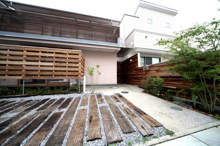 庭院 by 株式会社高野設計工房, 北歐風