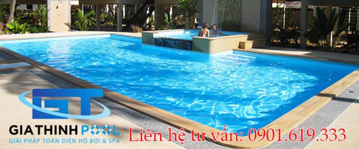 Thiết kế thi công hồ bơi gia đình:   by GiaThinhPool & SPA