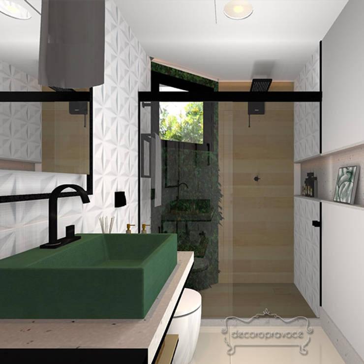 ห้องน้ำ โดย Decoropravocê - Decoração ao seu alcance., อินดัสเตรียล