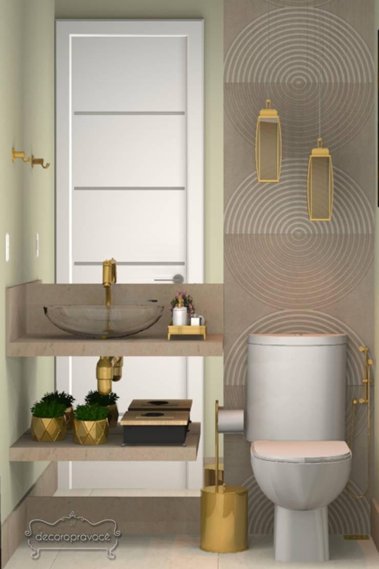 ห้องน้ำ โดย Decoropravocê - Decoração ao seu alcance., โมเดิร์น