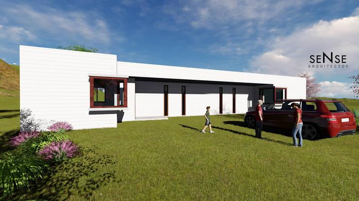 Sense Arquitectos:  tarz Kır evi