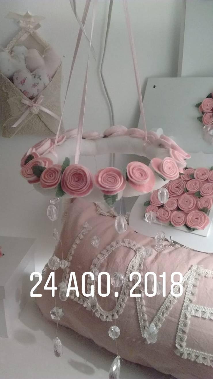 Conjunto Romántico Shabby Chic de ANADECO - Decoradora y Diseñadora de Interiores - La Plata Clásico