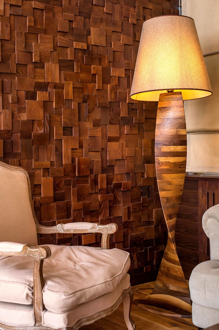 3D Wall Coverings:  Walls & flooring by Motama Interiors and Exteriors