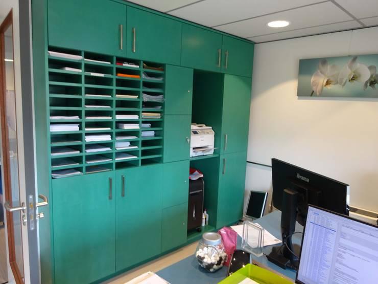 backoffice kast:  Studeerkamer/kantoor door Bob Nisters, Modern MDF