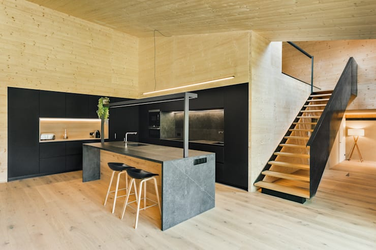 Built-in kitchens by dom arquitectura, Modern