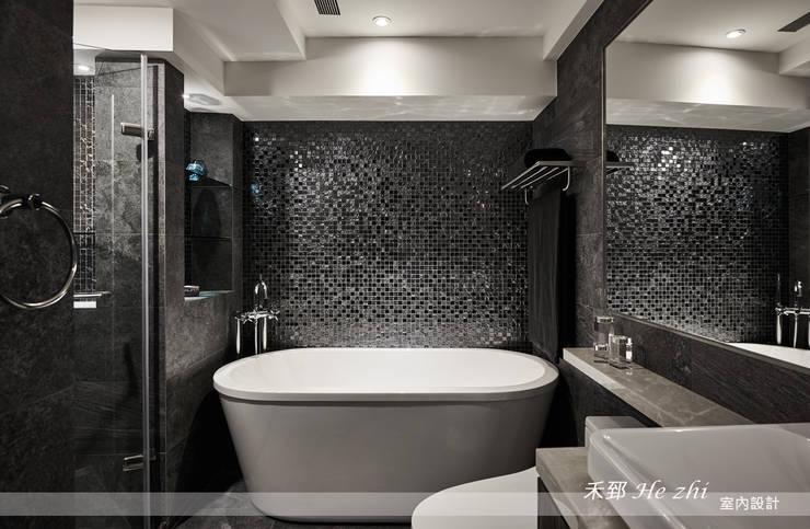 藴育藴意:  浴室 by 禾郅 室內設計