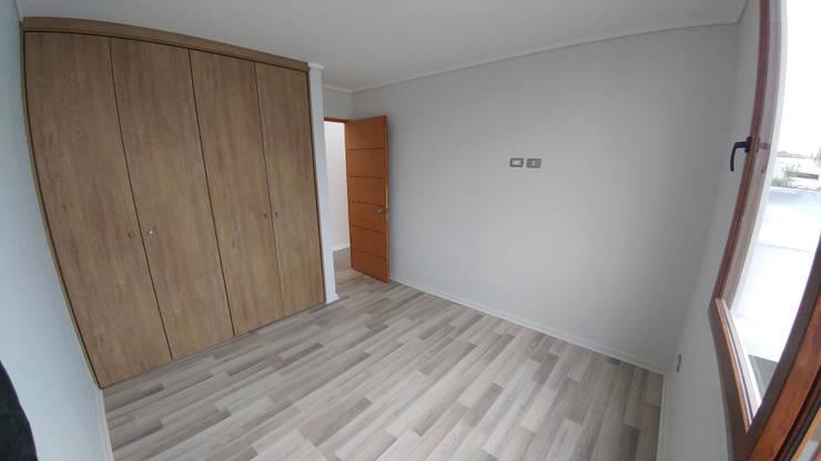 Casa Lomas De Montemar: Dormitorios de estilo moderno por Lau Arquitectos