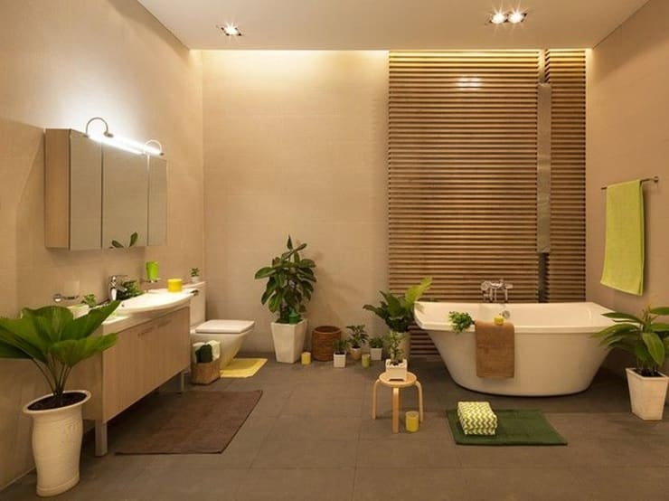 Bathroom by Công ty Thiết Kế Xây Dựng Song Phát, Asian