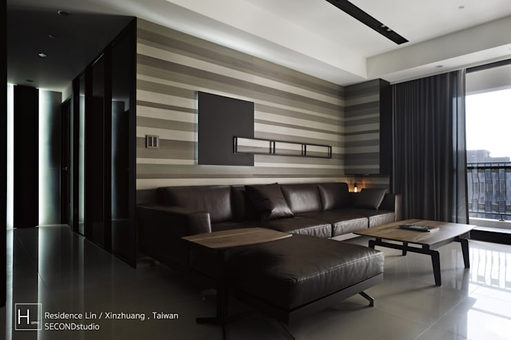 Living room / 客  廳:  客廳 by SECONDstudio