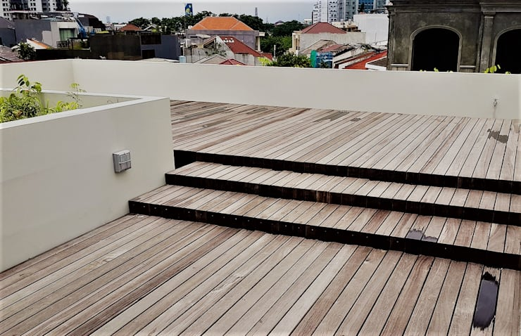 Rooftoop:   by Jati and Teak