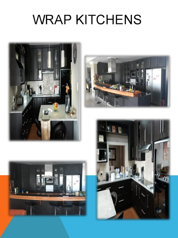 Wrap Kitchen:  Kitchen units by SCD Kitchens