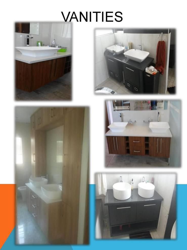 Vanities:  Bathroom by SCD Kitchens