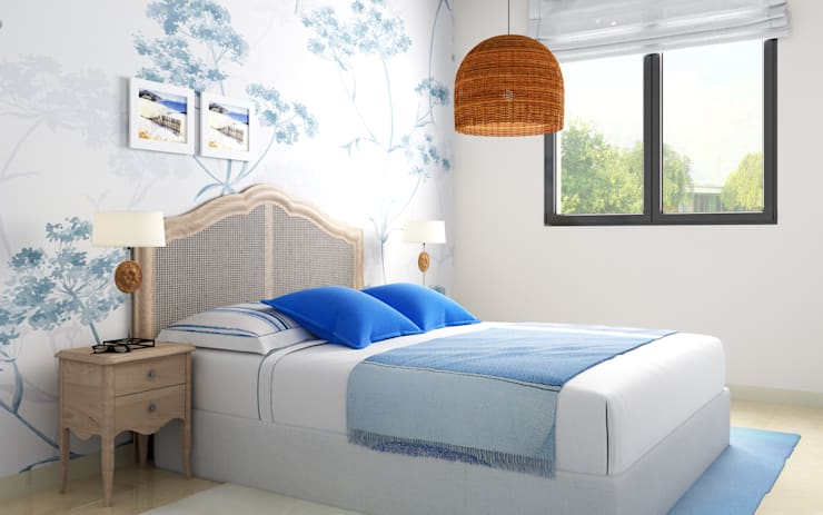 Bedroom by Taller de Interiores Mediterraneos