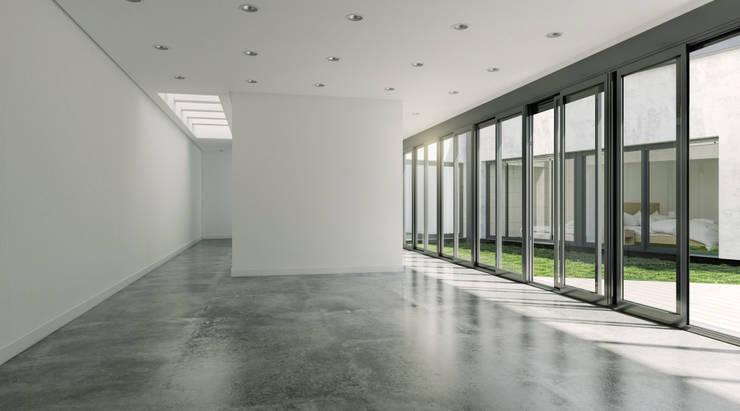 Salón: Salones de estilo  de A3D INFOGRAFIA
