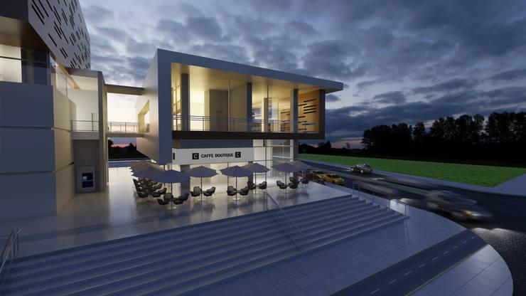 Centro Comercial: Casas de estilo  por IAA LTDA
