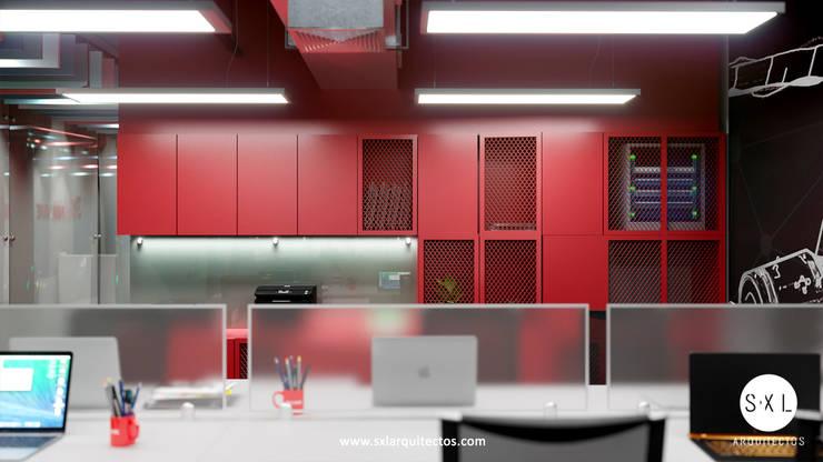 Mueble de SXL ARQUITECTOS Moderno Aglomerado