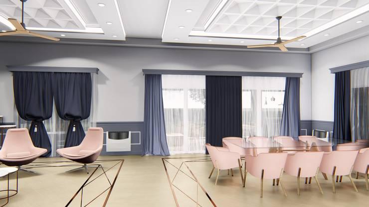 Diseño interior - Vivienda Unifamiliar: Comedores de estilo  por Triad Group,Clásico Derivados de madera Transparente