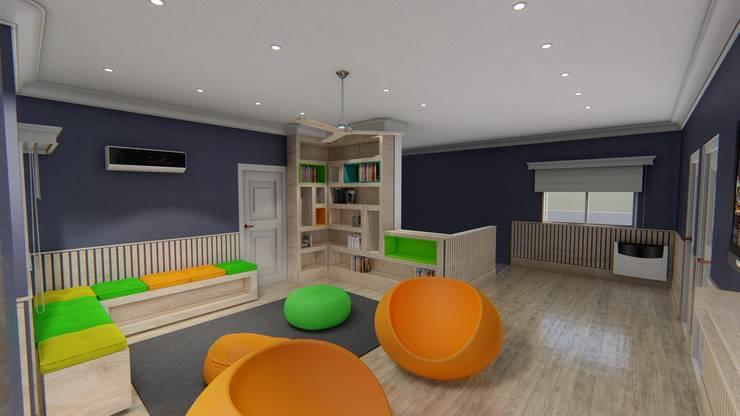 Diseño interior - Vivienda Unifamiliar: Dormitorios de estilo  por Triad Group,Clásico Madera Acabado en madera