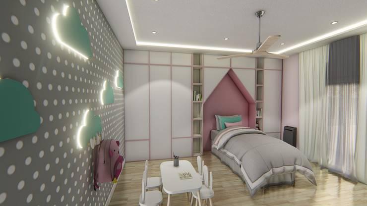 Diseño interior - Vivienda Unifamiliar: Dormitorios de estilo  por Triad Group,Clásico Cobre/Bronce/Latón
