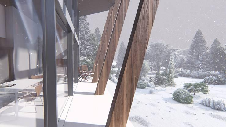 Vivienda Unifamiliar: Casas de estilo  por Triad Group