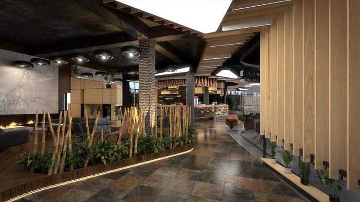 Salle à manger de style  par Dündar Design - Mimari Görselleştirme
