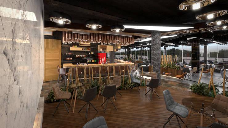 Comedores de estilo  por Dündar Design - Mimari Görselleştirme
