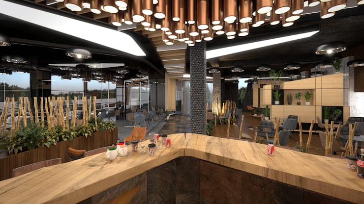 Dining room by Dündar Design - Mimari Görselleştirme