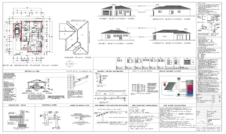 HOUSE PLANS DRAUGHTING SERVICES:   by Xihlengo Group pty(ltd)
