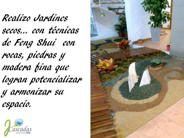 PRESENTACIÓN: Jardines zen de estilo  por JCASCADAS, Asiático