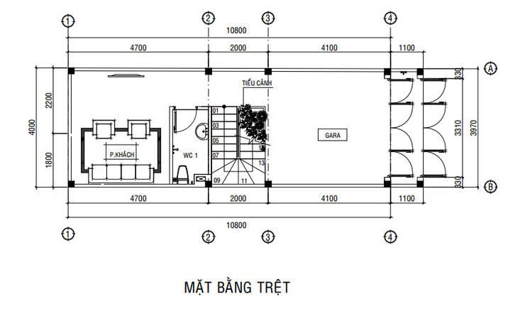 by Công ty Thiết Kế Xây Dựng Song Phát Азіатський