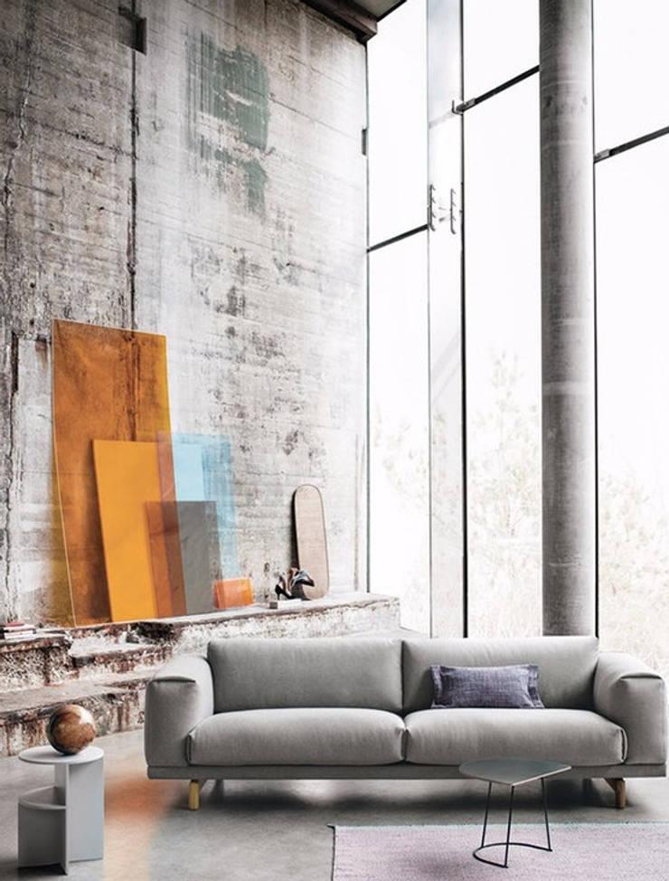 MUUTO家具北歐現代進口家具,高檔藝術風格:  客廳 by 北京恒邦信大国际贸易有限公司