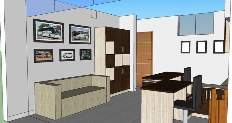 MUEBLES DE OFICINA: Oficinas de estilo  por MARSHEL DUART SRL
