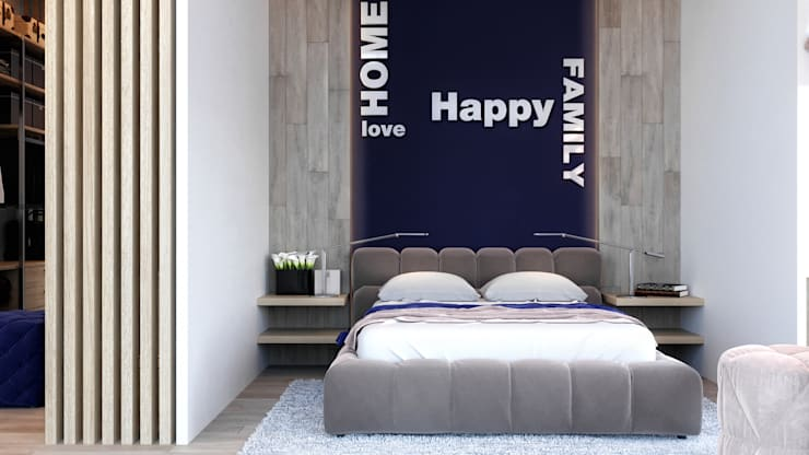 Таунхаус в Футуро Парк: Спальни в . Автор – Loft&Home